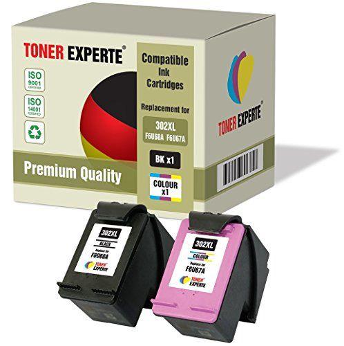 Pack De 2 Xl Toner Experte Cartuchos De Tinta Compatibles Con Hp