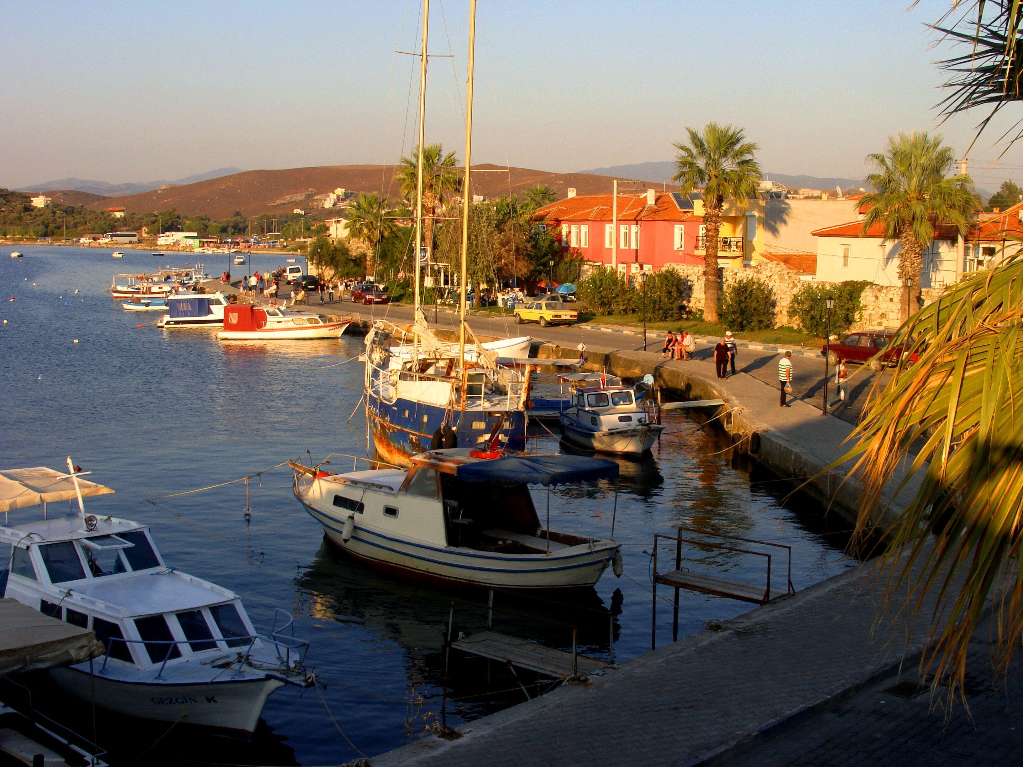 Sigacik Bay Seferihisar Izmir Sigacik Izmir Aegean Turkey Travel Country World