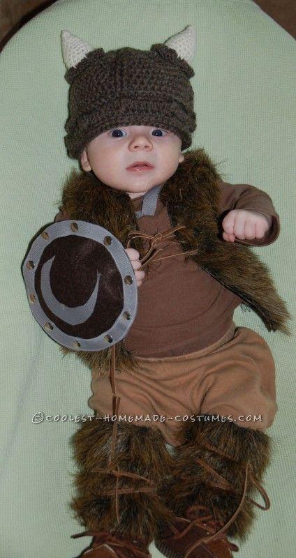 Pint Sized Baby Pillager Viking Costume Halloween Kids Viking