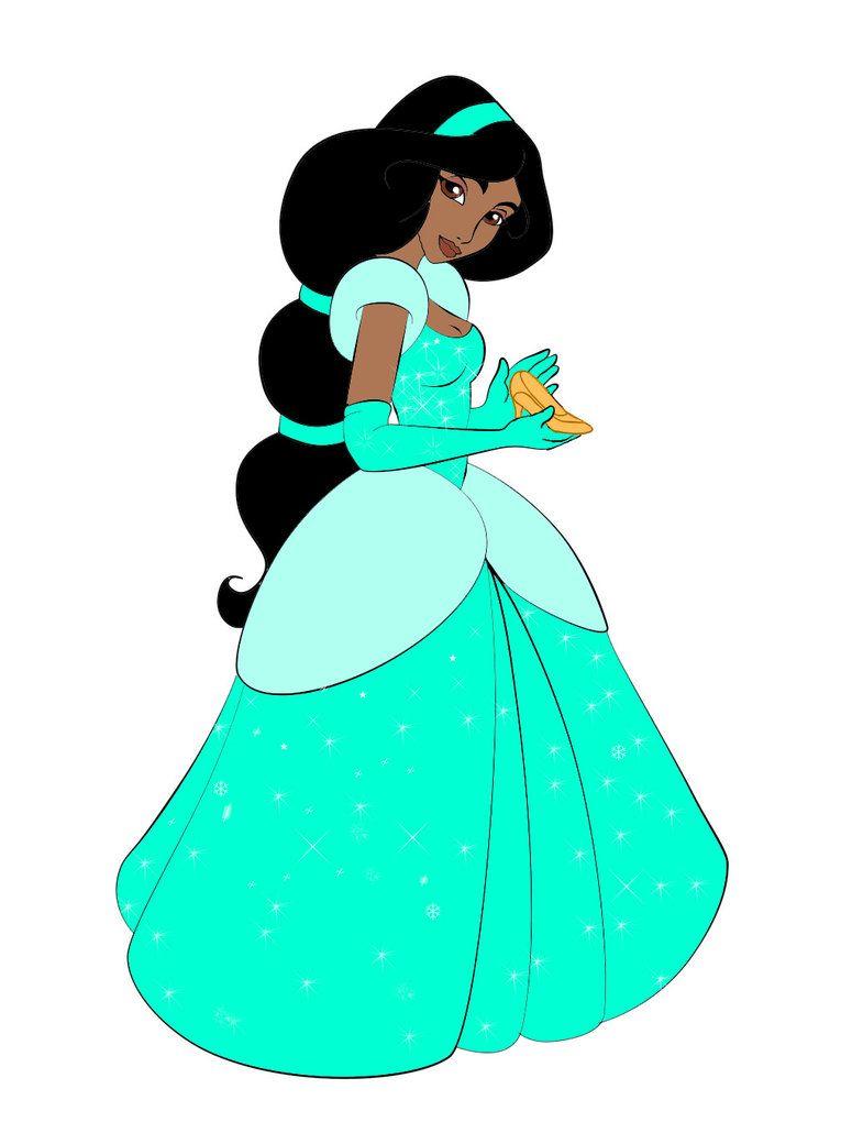Jasmine en Cendrillon