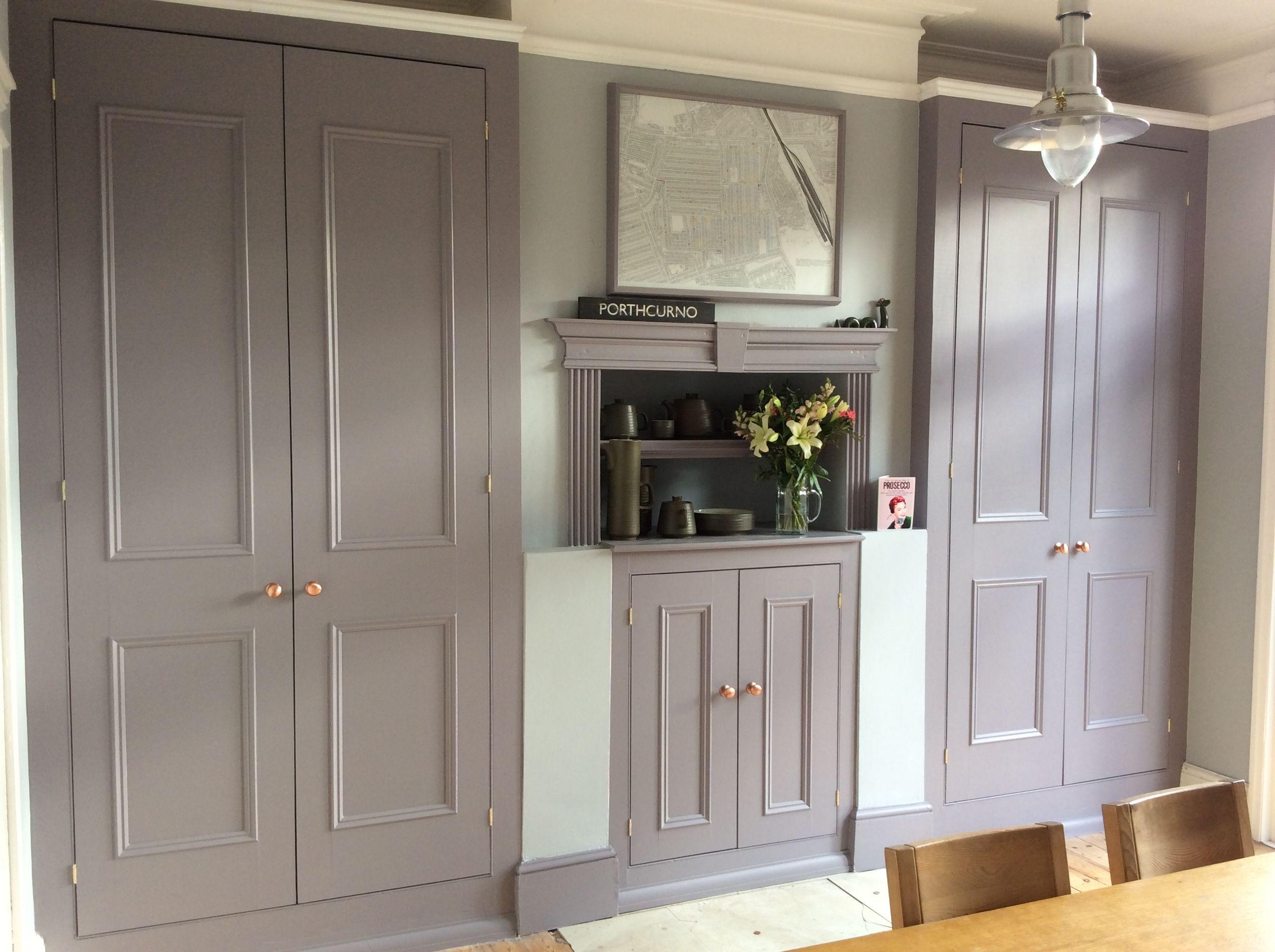 Little Greene Arquerite 250 and Mono 218 kitchen dining room