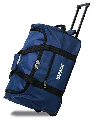 9e4721a96f0f HiPack Simplicity Rolling 28 Duffel Bag NAVY -- Check out the image by  visiting the link.