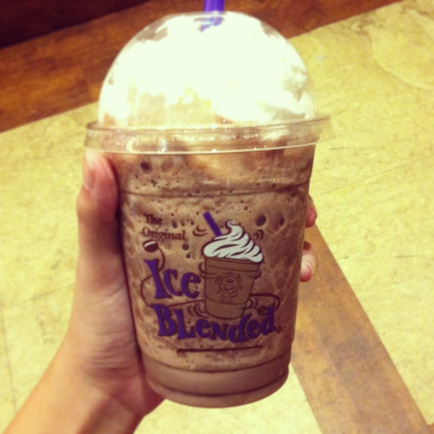 Pure Double Chocolate Ice Blended From The Coffee Bean Tea Leaf Double Chocolate Tea Leaves Pure Products