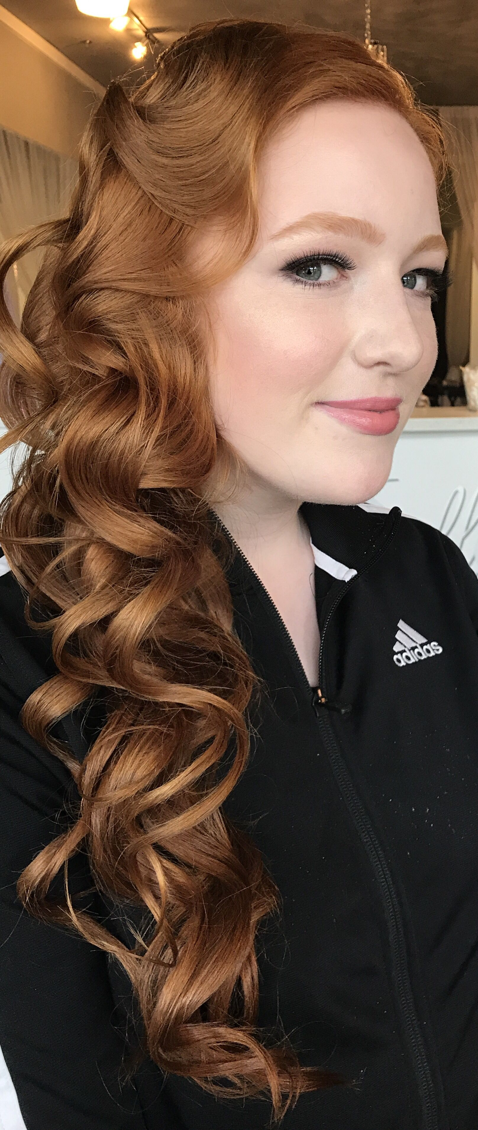 a bella bombshell- long prom hair, prom hair to one side