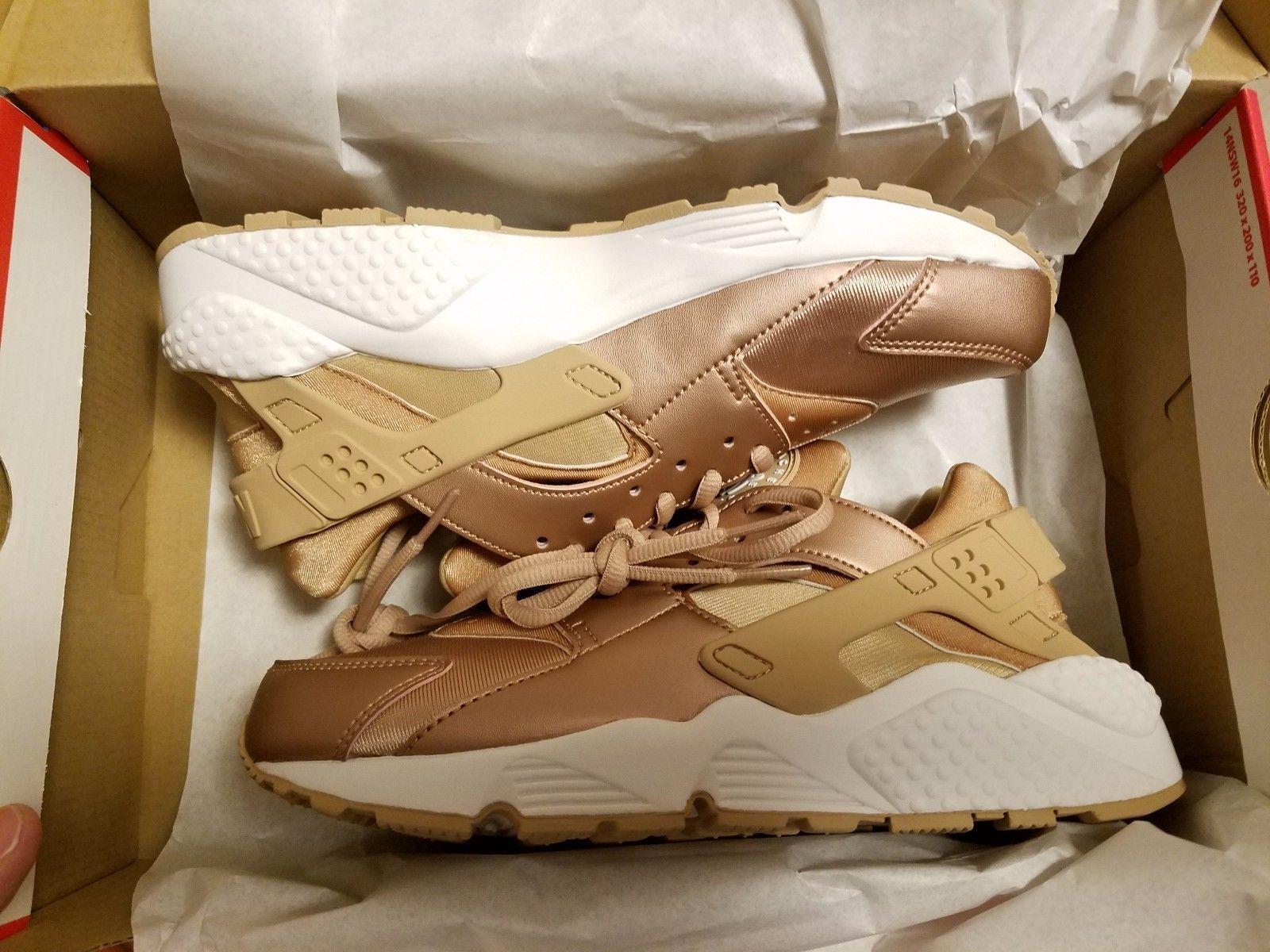 f870df35e2ba9 Nike Air Huarache Wmns Rose Gold White Copper Bronze 859429-900 Women S Sz 6 -11