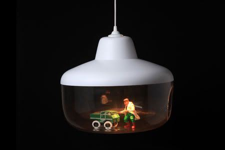 You could pop any object in the plastic bit. This was designed by Hung Ming Chen