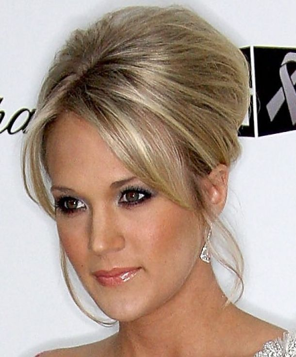 Wedding Hairstyle At Home: Home » Updo Hairstyle » Carrie Underwood