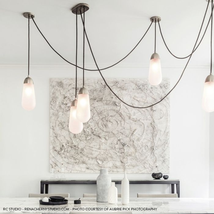 Chandeliers Led Chandeliers Living Room Suspension Luminaires Ceramic Suspended Lamps Luxury Lighting Fixtures Bedroom Hanging Lights Limpid In Sight