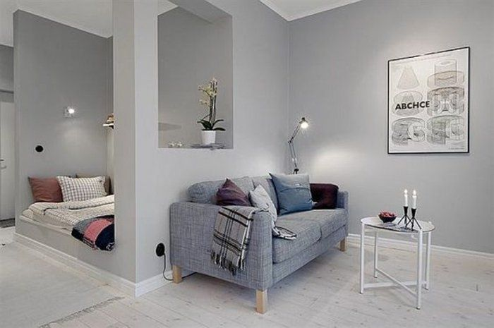 Kleines Wohnzimmer einrichten - eine große Herausforderung
