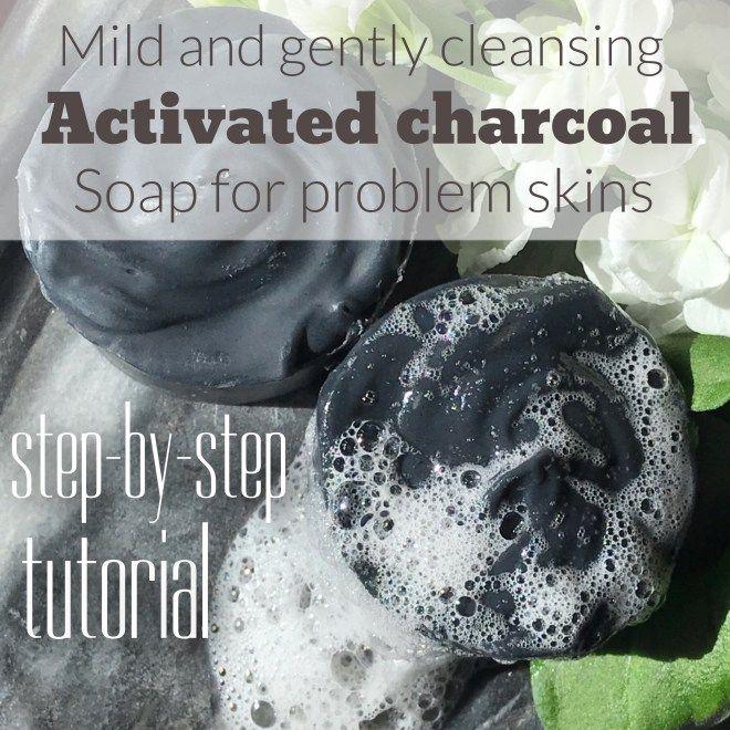 Activated charcoal soap Activated charcoal soap