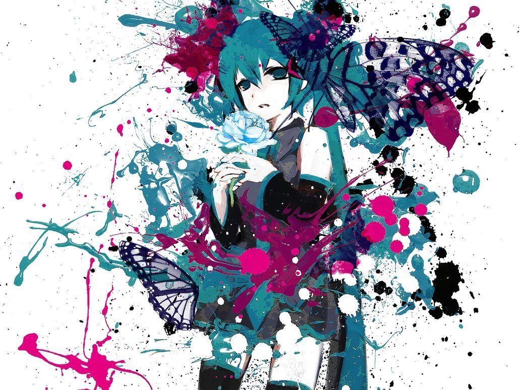Resultado De Imagen Para Anime Abstract Wallpapers