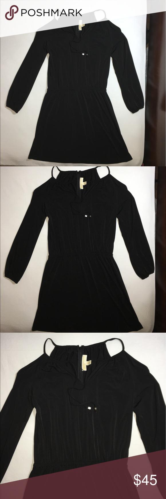 Black Michael kors dress In good condition. Michael Kors Dresses