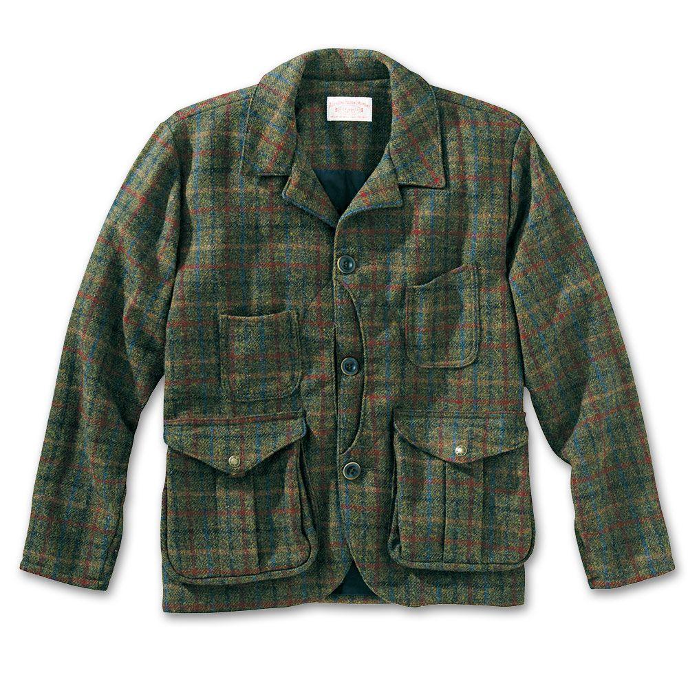 39fb6fc7d2bf85 Guide Work Jacket. Guide Work Jacket Harris Tweed ...