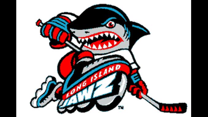 Long Island Jawz Logo Roller Hockey International in 2020