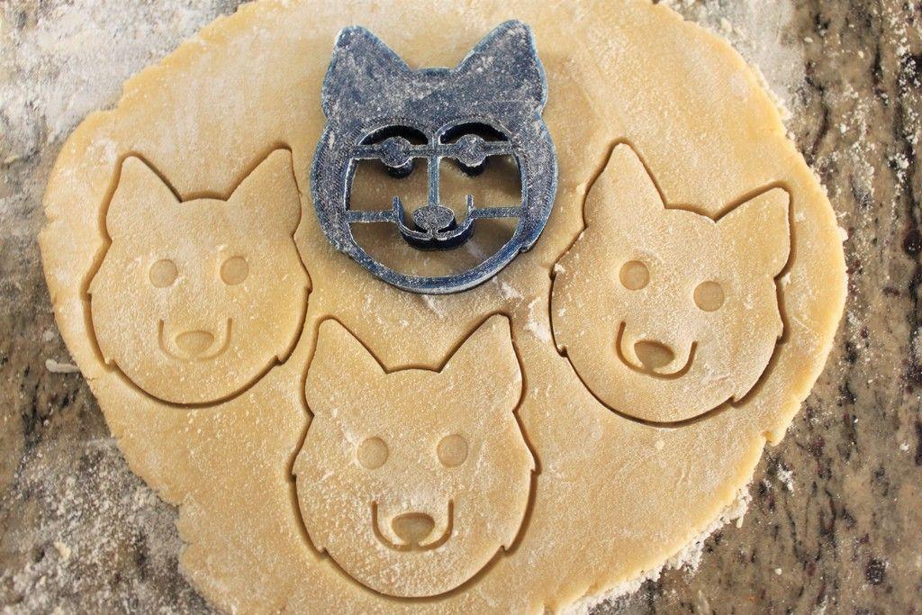 Paw Print Cookie Cutter Imprint Fondant Cutter Cupcake Dog Treat Gum paste Gift