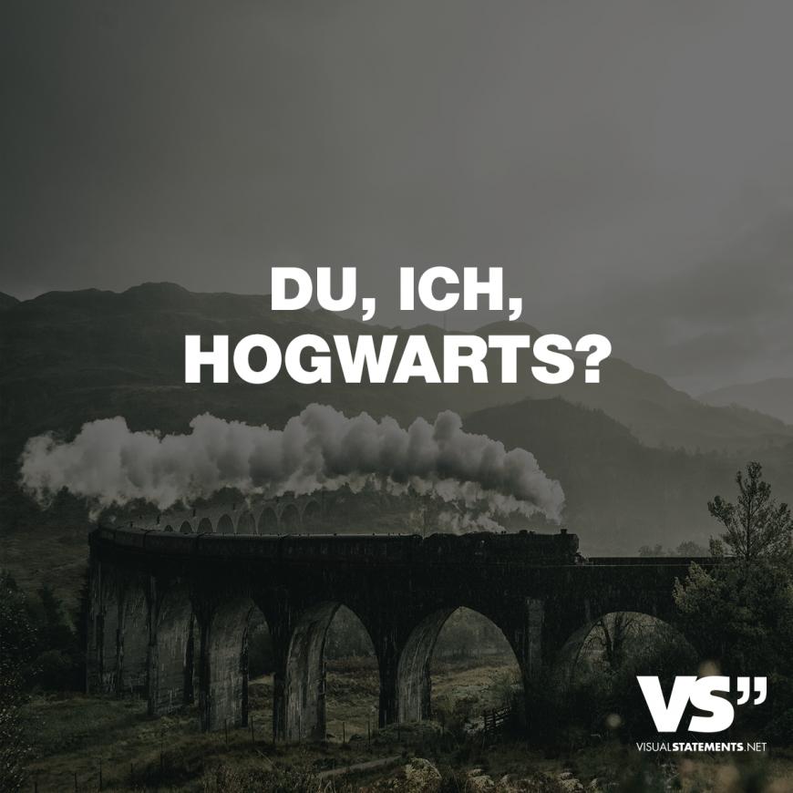 Statements Hogwarts Visual Sprche Zitate Quotes Lustig