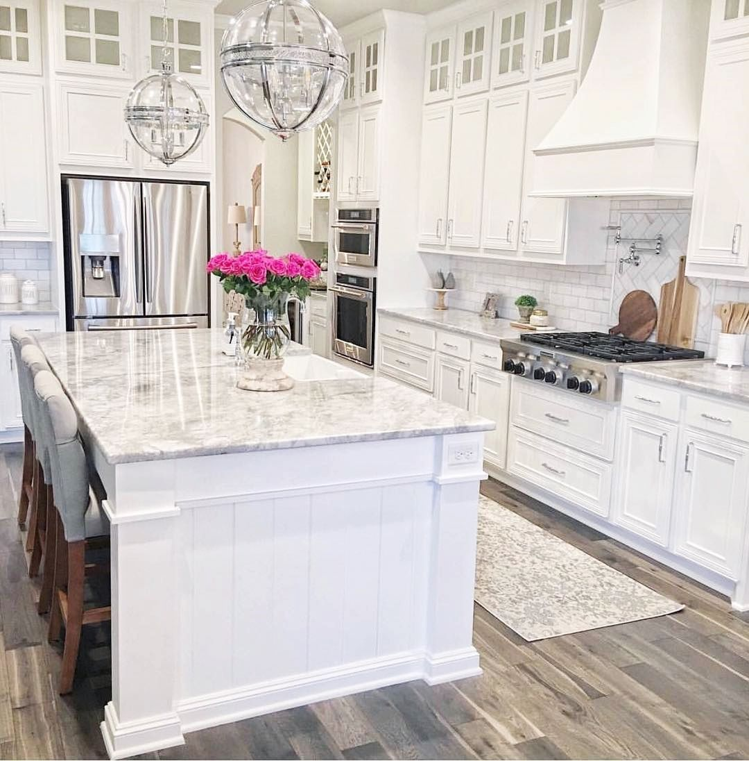 White Kitchen Ideas White Kitchens Are Traditional They Re Intense Clean As Well As Don T Require Kitchen Design Modern Kitchen Design Home Decor Kitchen