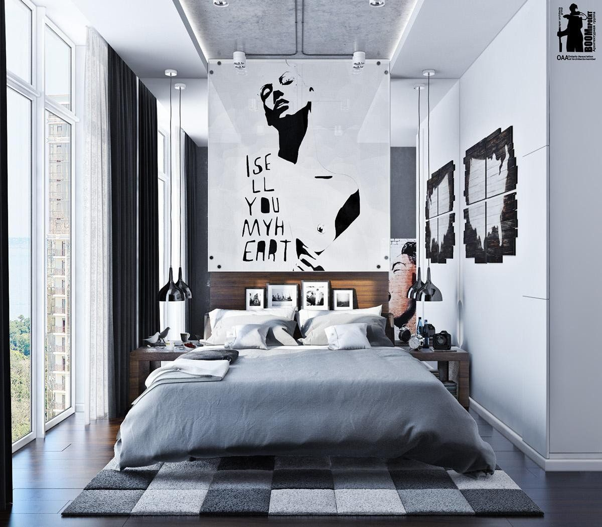 Cool Wall Decor For Guys Unique 20 Collection Of Cool Wall Art For Guys Kamar Tidur Cantik Desain Interior