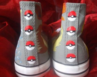 Pokemon Eevee Evolution Canvas Shoes