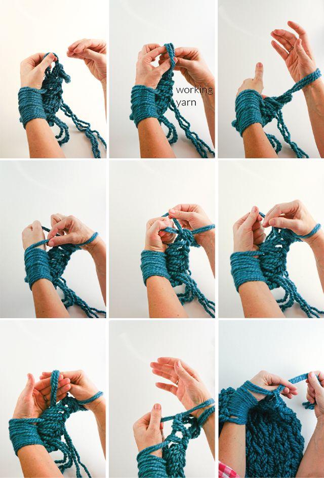 Как связать без спиц и крючков