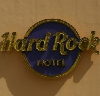Hard Rock Hotel  Casino Punta Cana, Dominican Republic.