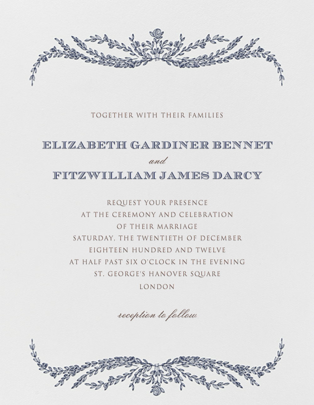Daphne Invitation By Crane Co For Paperless Post Pretty Paper