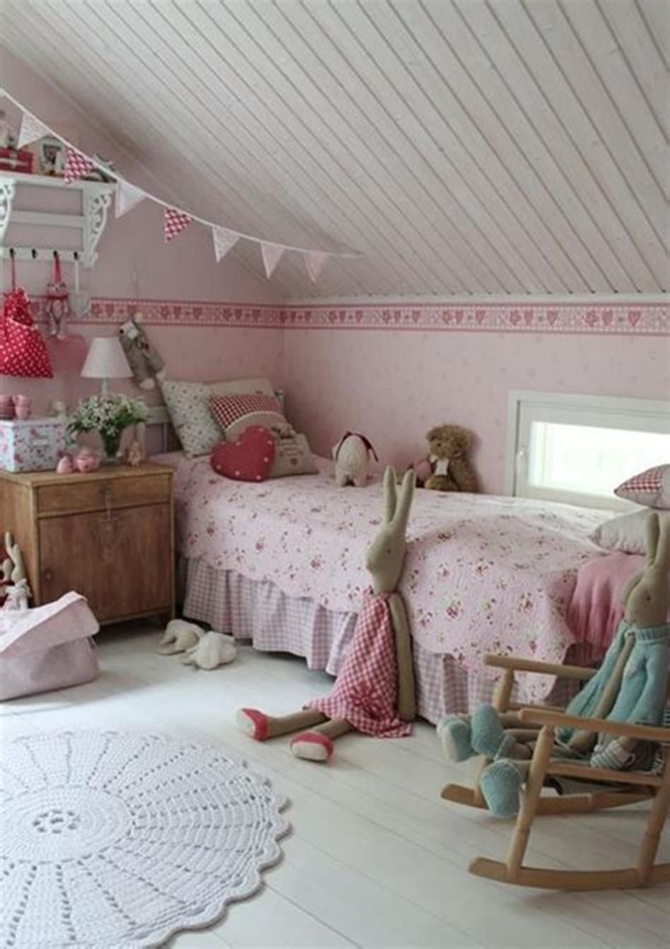 37 Adorable Attic Bedroom Ideas For Girls You Ll Love Craft Home