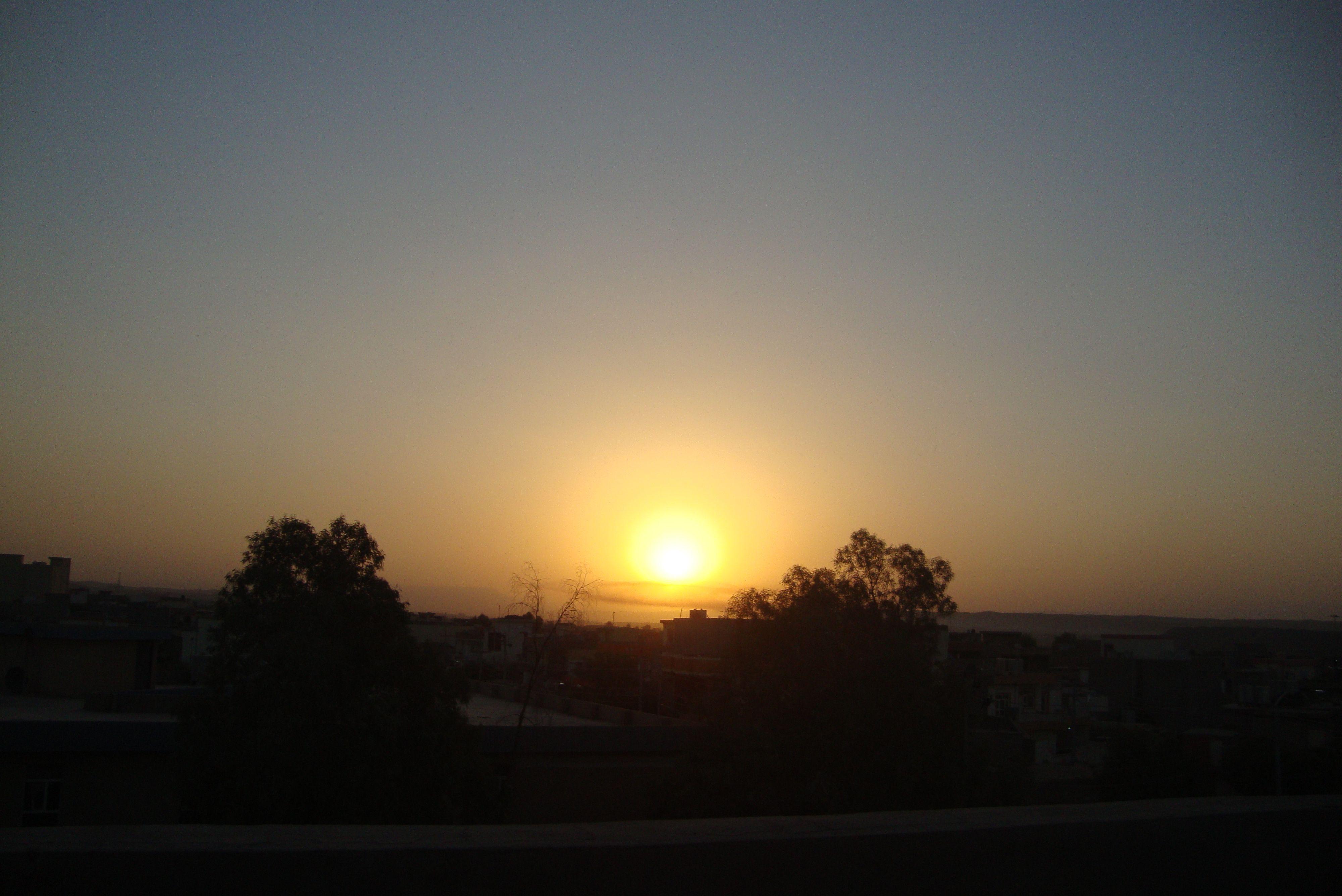 شروق الشمس Outdoor Celestial Sunset