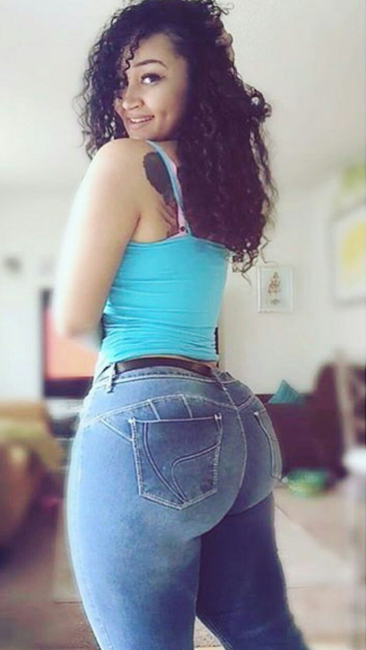 "tightdenimgirls: ""booty in jeans "" 
