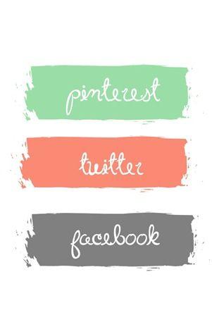 Blog Design Social Media Buttons Social Media Buttons Blog