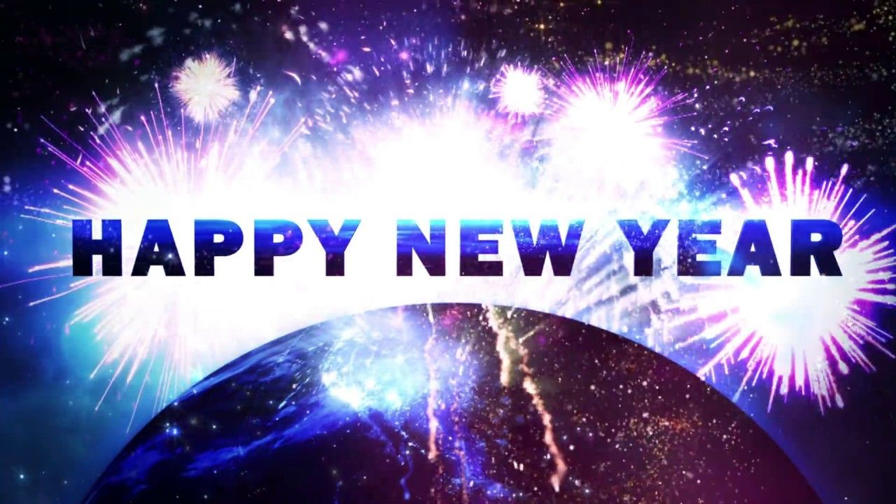 Happy New Year 2019 V 624 Countdown Timer With Sound Effects And New Year Wishes Happy New Year Quotes Happy New Year 2019
