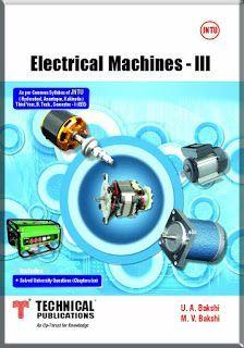 Electrical Machine 3 By M V Bakshi U A Bakshi Free Download Pdf