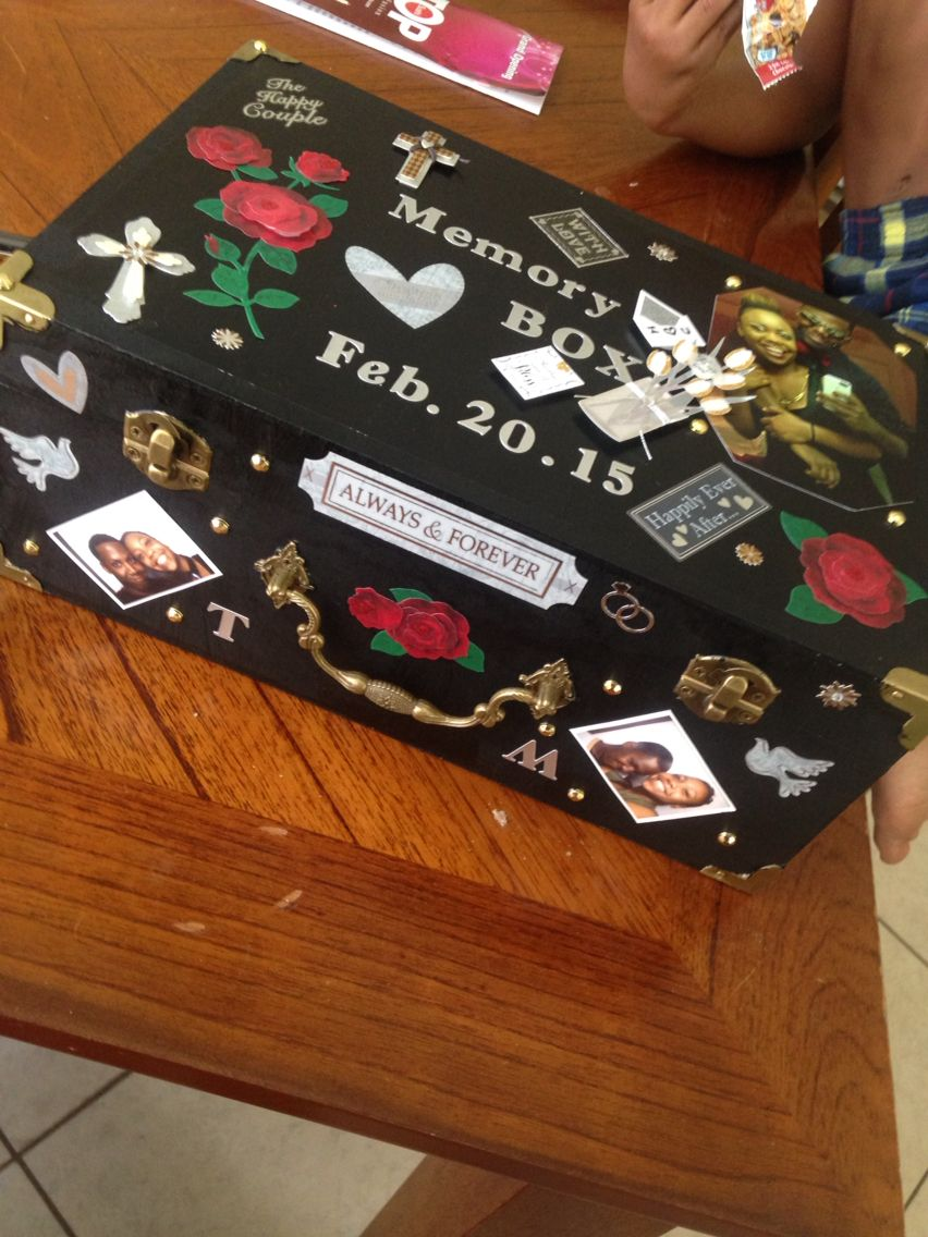 Memory box boyfriend going to college gift for boyfriend for Cheap diy presents