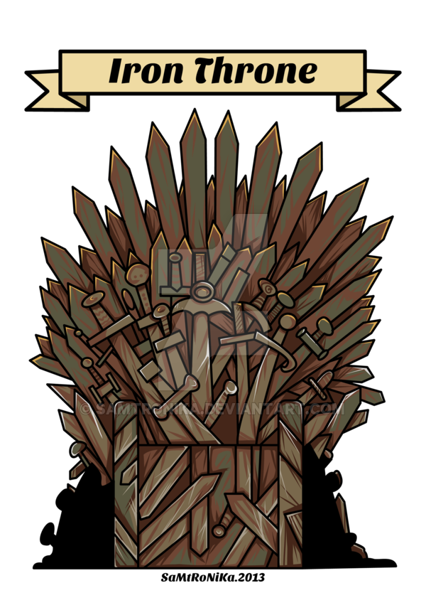 I Is For Iron Throne By Samtronika Game Of Thrones Art Iron Throne Grumpy Cat