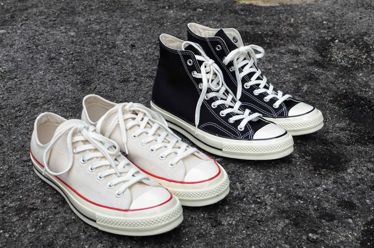 c5893f861f7 Converse Chuck Taylor First String 1970 quick review. - YouTube