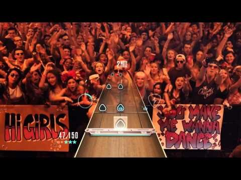 GH Live: (Regular) Here's To Never Growing Up - Music by Avril Lavigne Guitar Hero HD 1080 Video - YouTube