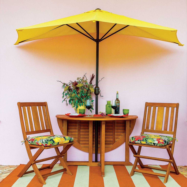 9 Half Patio Umbrella