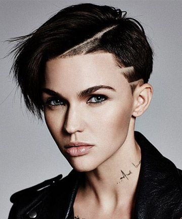 You Ll Barely Recognize Ruby Rose With Long Hair Ruby Rose Hair Ruby Rose Haircut Short Hair Styles