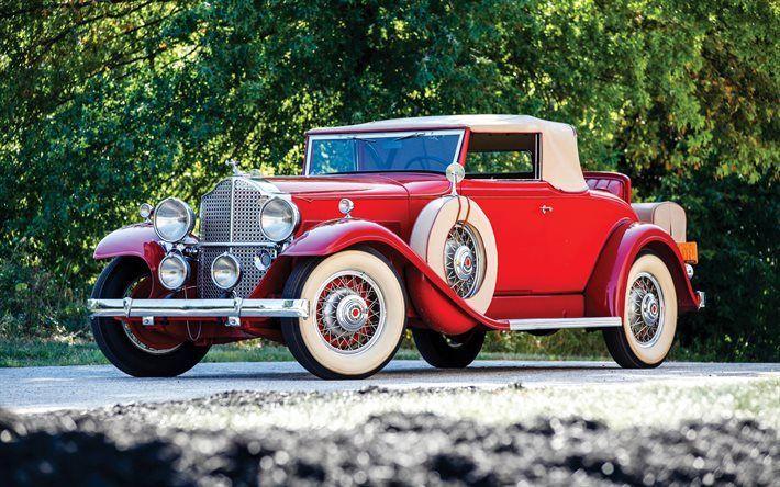 Indir duvar kağıdı Sekiz Packard, 1948, Eski arabalar, lüks arabalar, eski, …