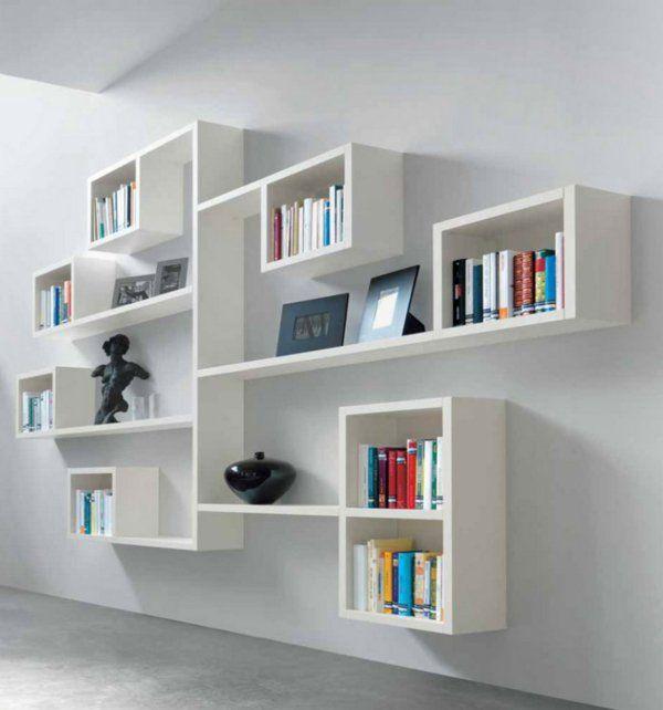 l 39 tag re murale design 82 id es originales archzine. Black Bedroom Furniture Sets. Home Design Ideas
