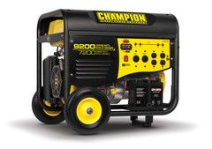 Champion 9200 7200w Generator Model 41533 With Images