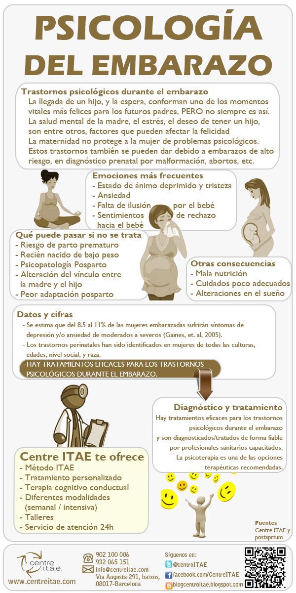 f3d6fbbe2 Infografía sobre la psicología del embarazo