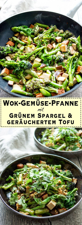 Wok-Gemüse-Pfanne mit geräuchertem Tofu Rezept | Elle Republic | Einfach & Gesund #howtostirfry