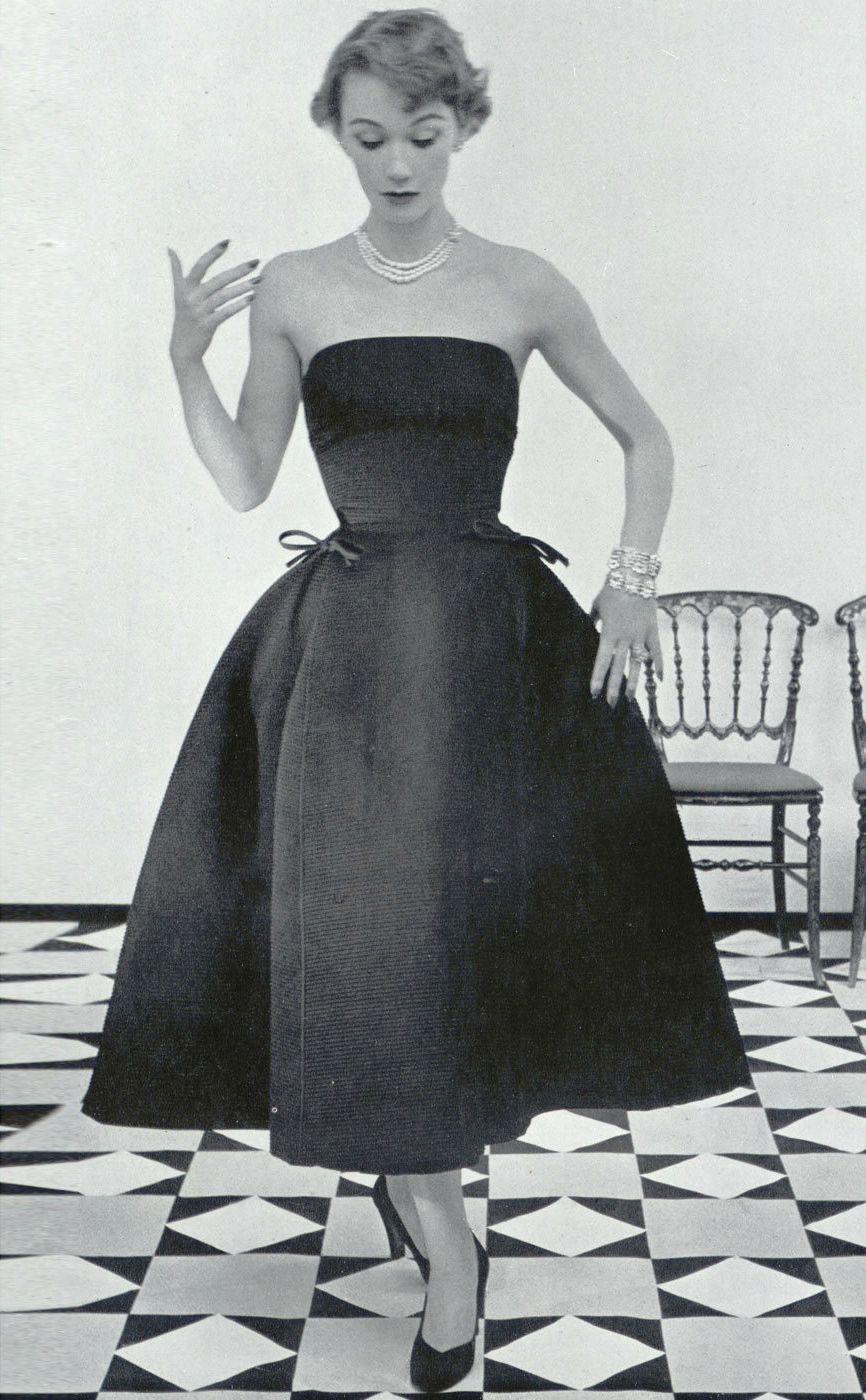 dior quotsonnetquot fallwinter 1952 vintage fashion 1950s