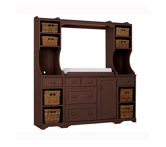 Madison Changing Table System Pottery Barn Kids In