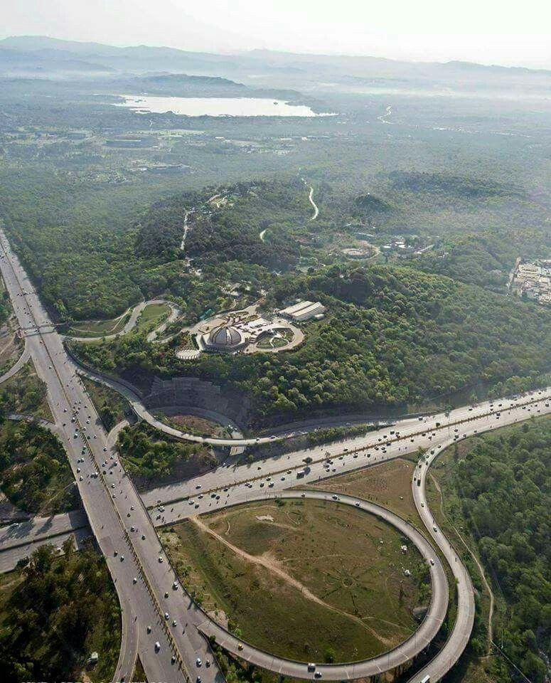 Islamabad Roads: Islamabad The Capital. Zero Point Flyover And Shakar