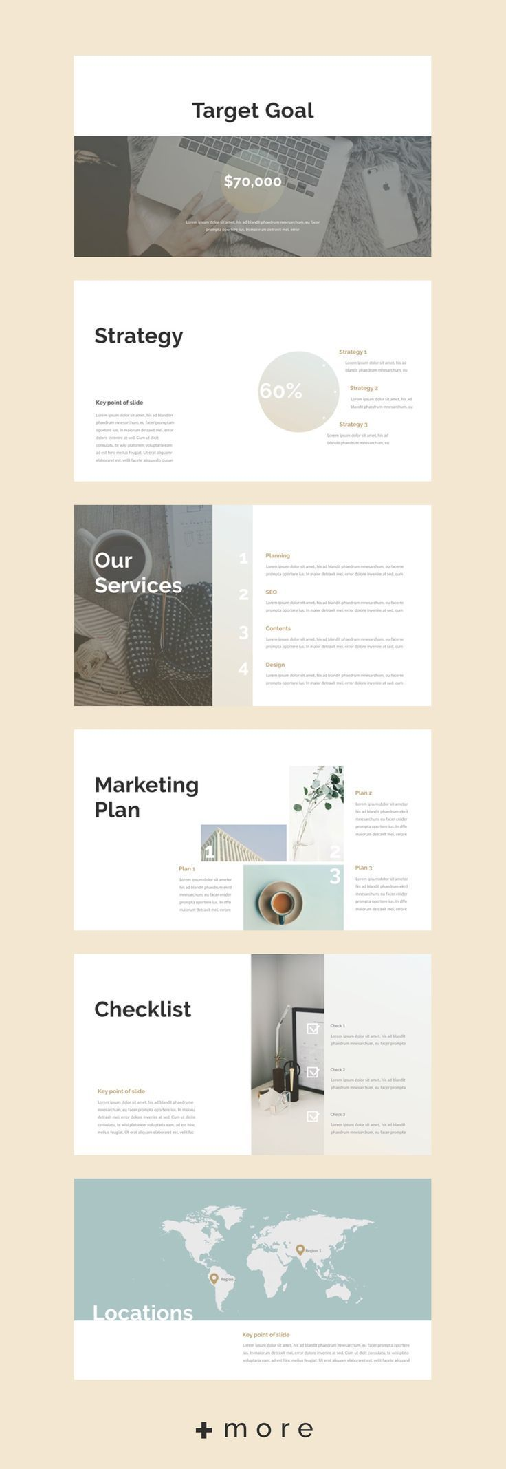 planner presentation design template business planning keynote