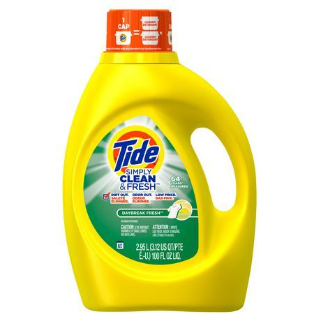 Tide Simply Clean Fresh High Efficiency Daybreak Fresh Scent