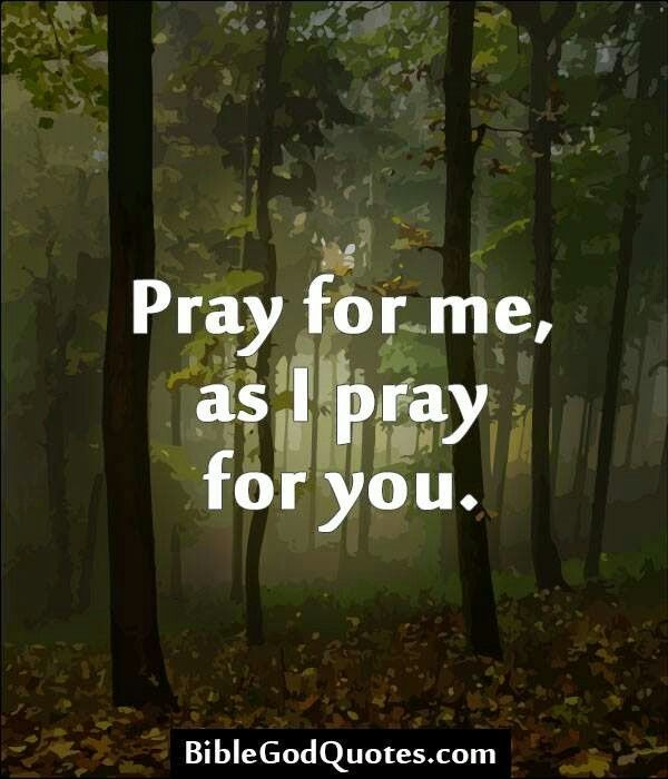 Pray for me, as I pray for you. #KWMinistries