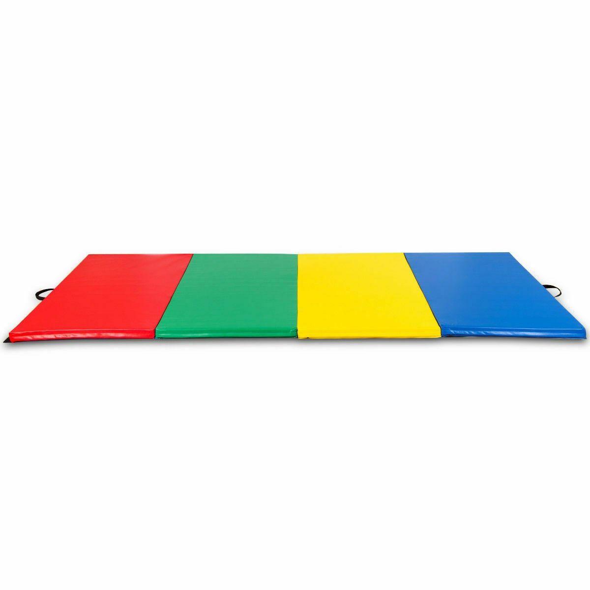 4 X10 X2 Gymnastics Mat Folding Panel Thick Gym Fitness